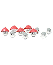 Mobilo Fireman & Child Heads - 10pcs