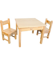 *SPECIAL: TufStuf Table & Chair Set - with 2 Chairs