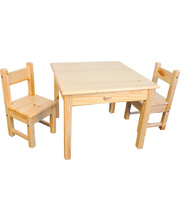TufStuf Table & Chair Set - with 4 Chairs