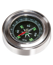 Stainless Steel Compass - 6 x 6 x 1.5cmH