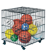 Ball Storage Cage - with Castors