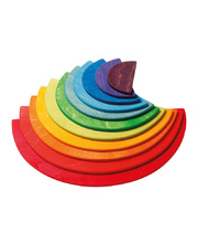@Grimm's Large Semi Circles - Rainbow 11pcs