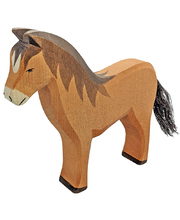 Ostheimer Farm - Brown Horse 16 x 3 x 14cmH