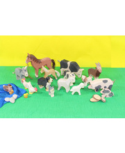 Ostheimer Farm Animals & Babies Set 18pcs