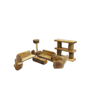 Natural Lichee Furniture - Living Room Set of 7