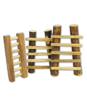 Natural Lichee Ladder - Set of 3