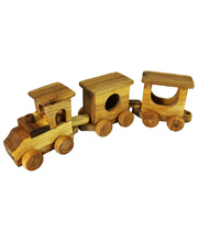 *SPECIAL: Natural Lichee Train 3pcs - 50 x 10 x 14cmH