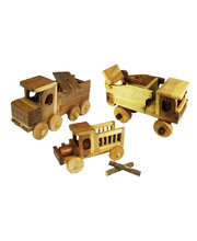 *Natural Lichee Big Trucks - Set of 3