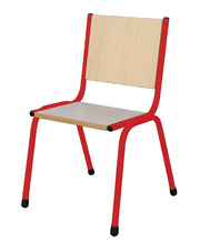 *SPECIAL: Bellbird Stackable Chair 28cmH - Signal Red