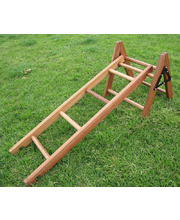 Hardwood Timber Ladders - 4 Rungs 35 x 120cmL