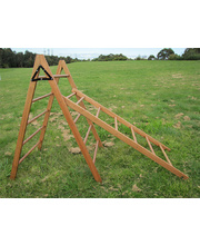 Hardwood Timber Ladders - 6 Rungs 35 x 180cmL