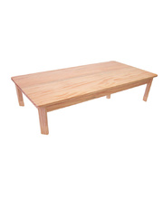 TufStuf Timber Table Rectangle 1200 x 600mm - 28cmH