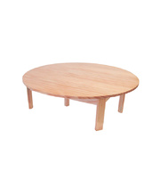 TufStuf Timber Table - Circle 28cmH