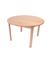TufStuf Timber Table Circle 900 x 900mm - 50cmH