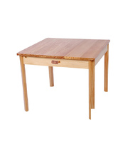 TufStuf Timber Table Square 600 x 600mm - 56cmH