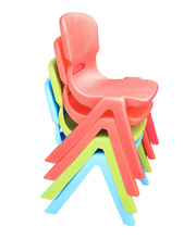 Tikk Tokk Stackable Resin Red - Chair 27cm