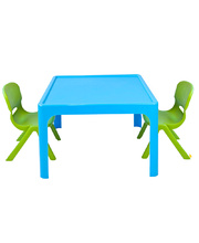 Tikk Tokk Stackable Resin Blue - Square Table