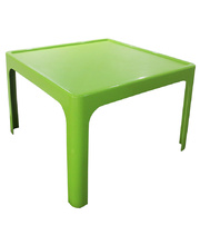 Tikk Tokk Stackable Resin Green - Square Table