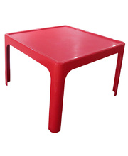 Tikk Tokk Stackable Resin Red - Square Table