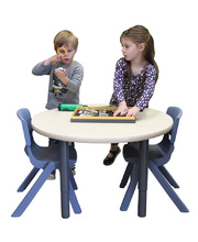 #Billy Kidz Round Table Top 800 x 800mm - Birch