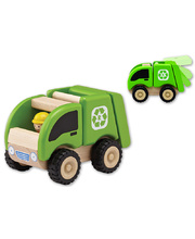 Wonderworld Mini Services Vehicles - Recycling Truck 9 x 17 x 11cm