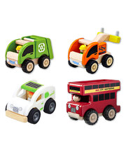Wonderworld Mini Services Vehicles - Set of 4
