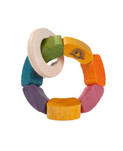 Wonderworld Natural Toys - Rainbow Rattle