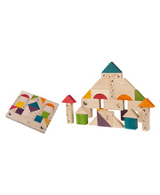Wonderworld Natural Toys - Wooden Blocks