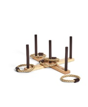 Hardwood Classic Game - Hoopla 5 Peg Rope Toss