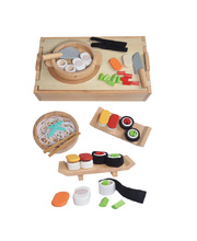Blue Ribbon Wooden International Food Set - Japanese