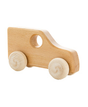 *SPECIAL: Natural Wooden Vehicle - 4WD