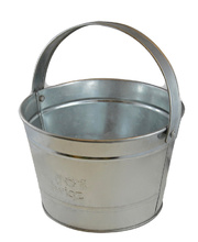 Twigz Bucket - Galvanised Steel 2 Litre