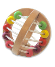 Discoveroo Wooden Play Ball - Beads