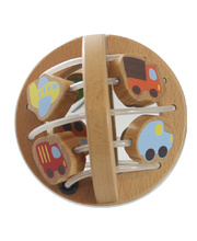 Discoveroo Wooden Play Ball - Traffic