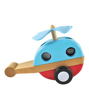 Discoveroo Magnetic Stacking Helicopter - 21 x 14 x 10cm