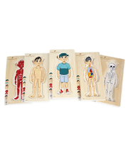 Discoveroo 5 Layer Body Puzzle - Boy