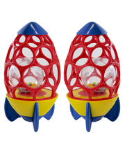 Oball Rattling Rocket - 2pcs