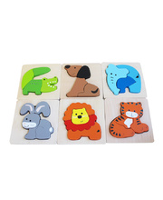 Discoveroo Chunky Tray Puzzles - Animals 6pcs