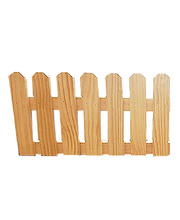 Pine Picket Fence / Room Divider - Small