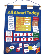 All About Today Wall Hanging - 32 x 62cm