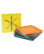 Geoboards - 15cm Set of 6