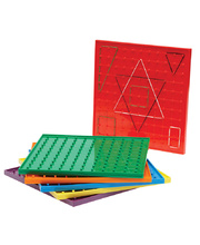 Geoboards - 23cm Set of 6