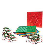 Geoboards & Geobands Set - 292pcs