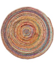 Recycled Indian Chindi Rug - Round 1.8m