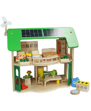 Voila Eco Doll House With Furniture