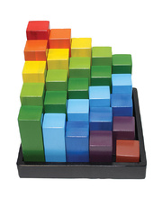 Rainbow Engineering Blocks - 21 x 21 x 15cm