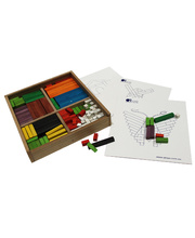 Wooden Cuisenaire Learning Rods