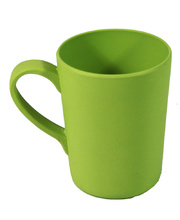 Bamboo Crockery Green - Mug With Handle 365ml