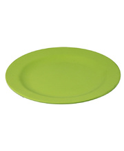 Bamboo Crockery Green - Plate 20cm