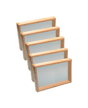 Bellbird Timber Splatter Frame - No Base Class Pack of 5